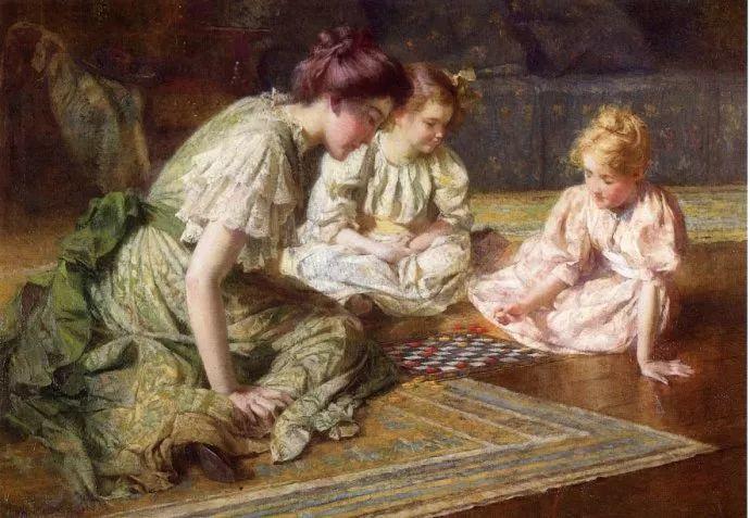 风景人物 美国画家Francis Coates Jones(1857-1932)插图29
