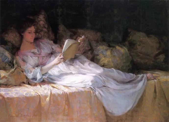 风景人物 美国画家Francis Coates Jones(1857-1932)插图33