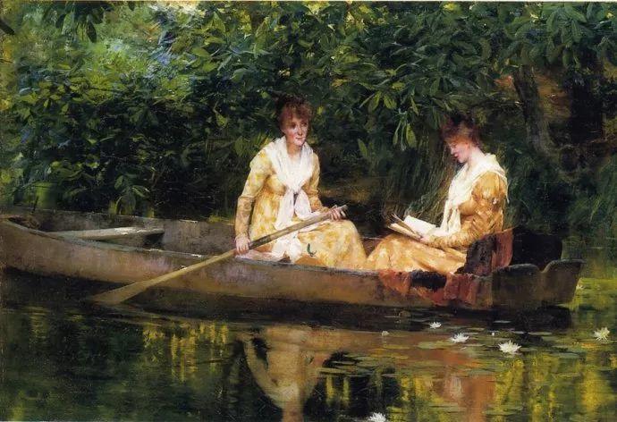 风景人物 美国画家Francis Coates Jones(1857-1932)插图41