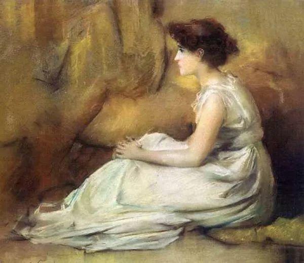 风景人物 美国画家Francis Coates Jones(1857-1932)插图43