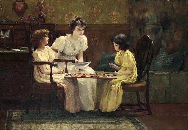 风景人物 美国画家Francis Coates Jones(1857-1932)插图55