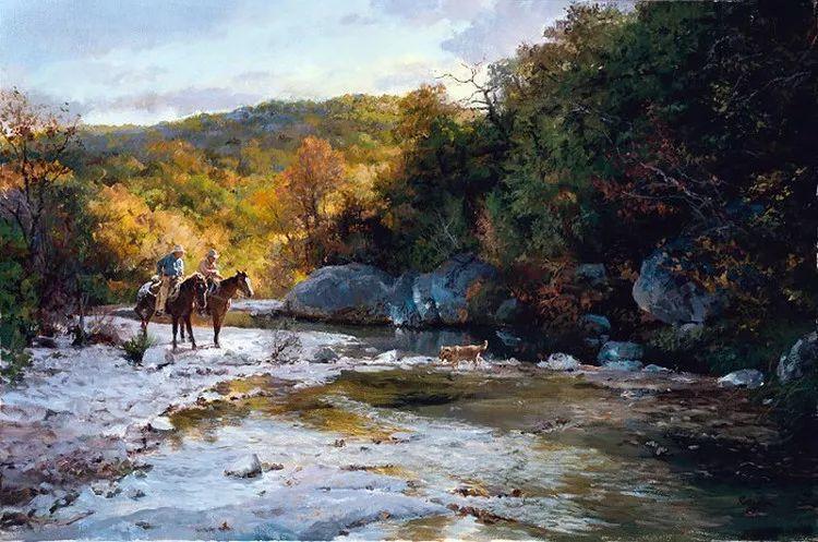 风景油画 美国James Robinson作品欣赏插图7