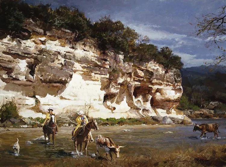 风景油画 美国James Robinson作品欣赏插图9