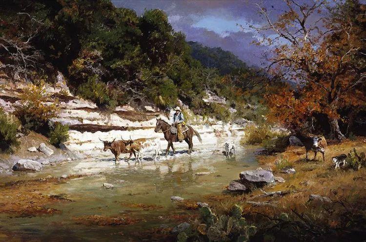 风景油画 美国James Robinson作品欣赏插图11