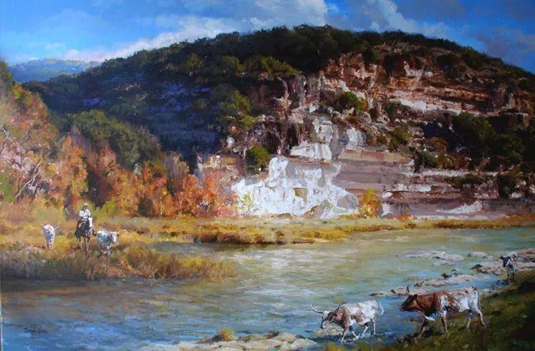 风景油画 美国James Robinson作品欣赏插图13