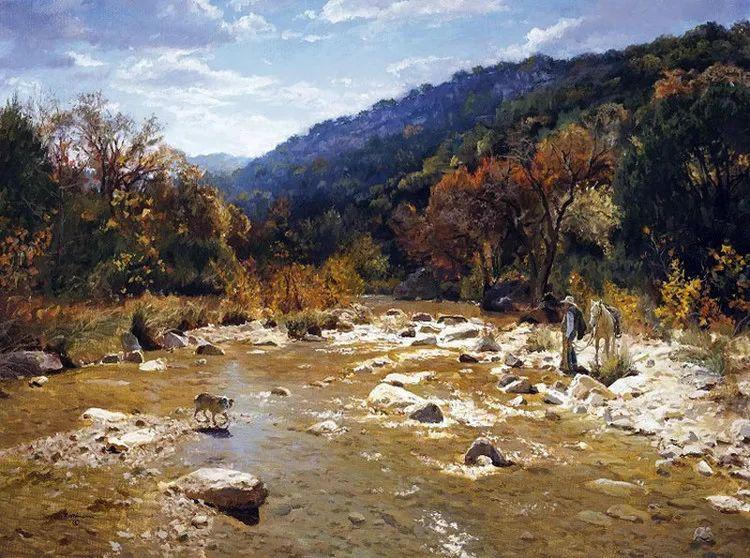 风景油画 美国James Robinson作品欣赏插图15