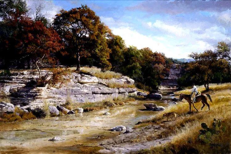 风景油画 美国James Robinson作品欣赏插图17