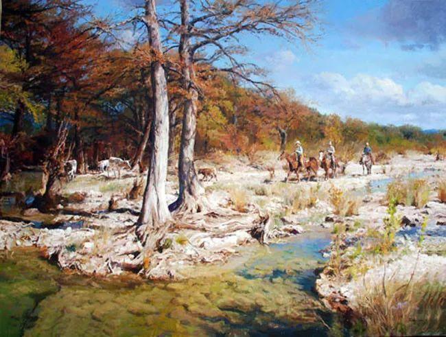 风景油画 美国James Robinson作品欣赏插图21