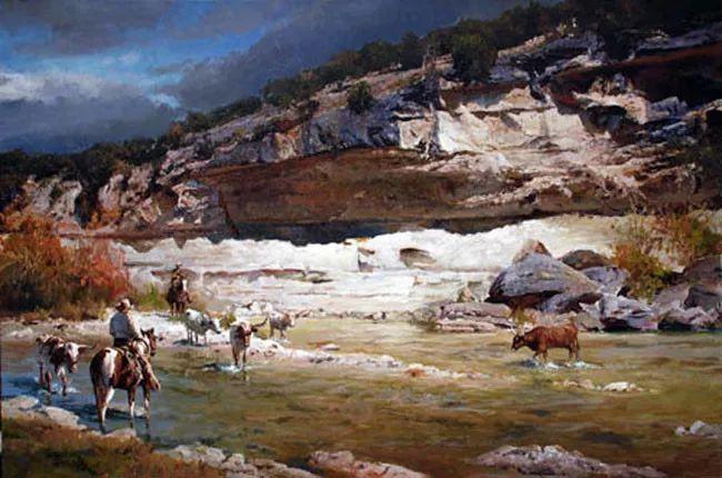 风景油画 美国James Robinson作品欣赏插图23