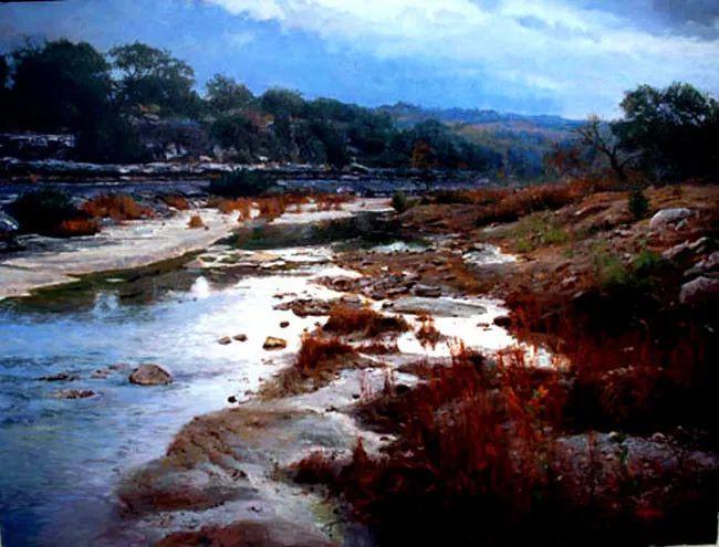 风景油画 美国James Robinson作品欣赏插图25