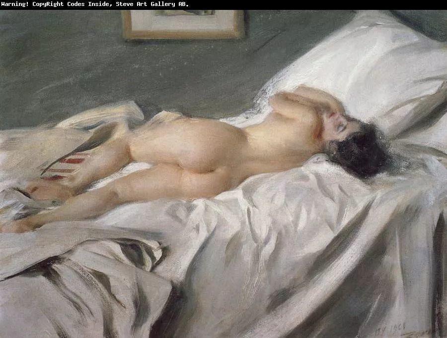 瑞典著名绘画大师Anders Zorn油画作品插图9