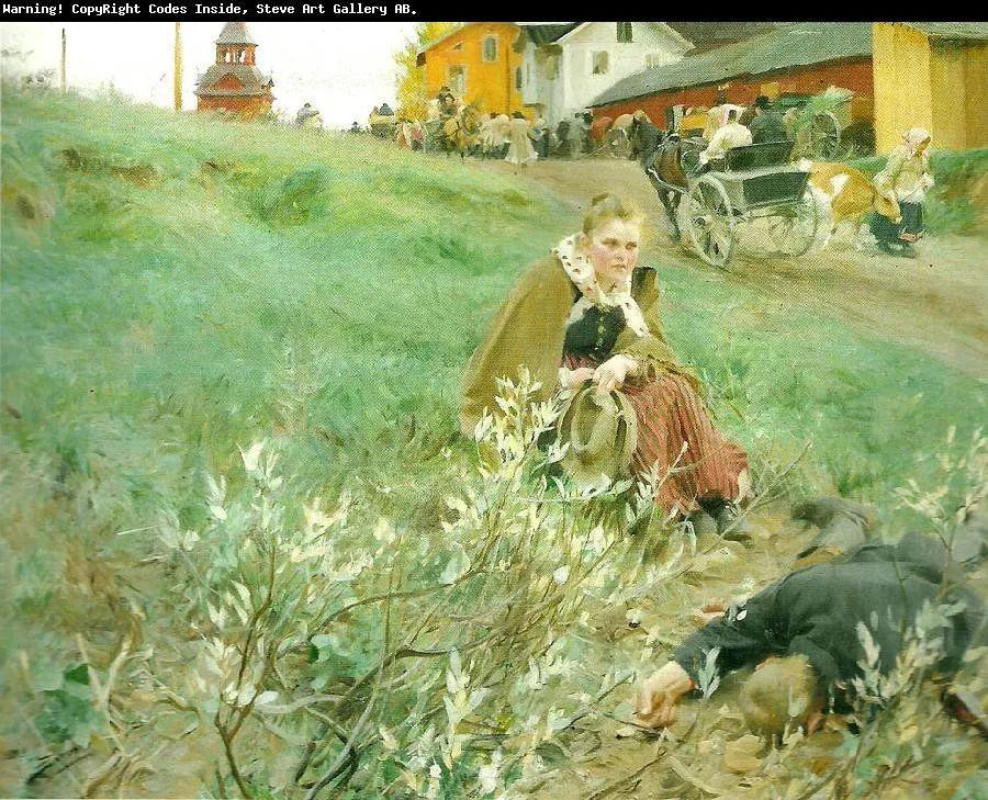 瑞典著名绘画大师Anders Zorn油画作品插图11