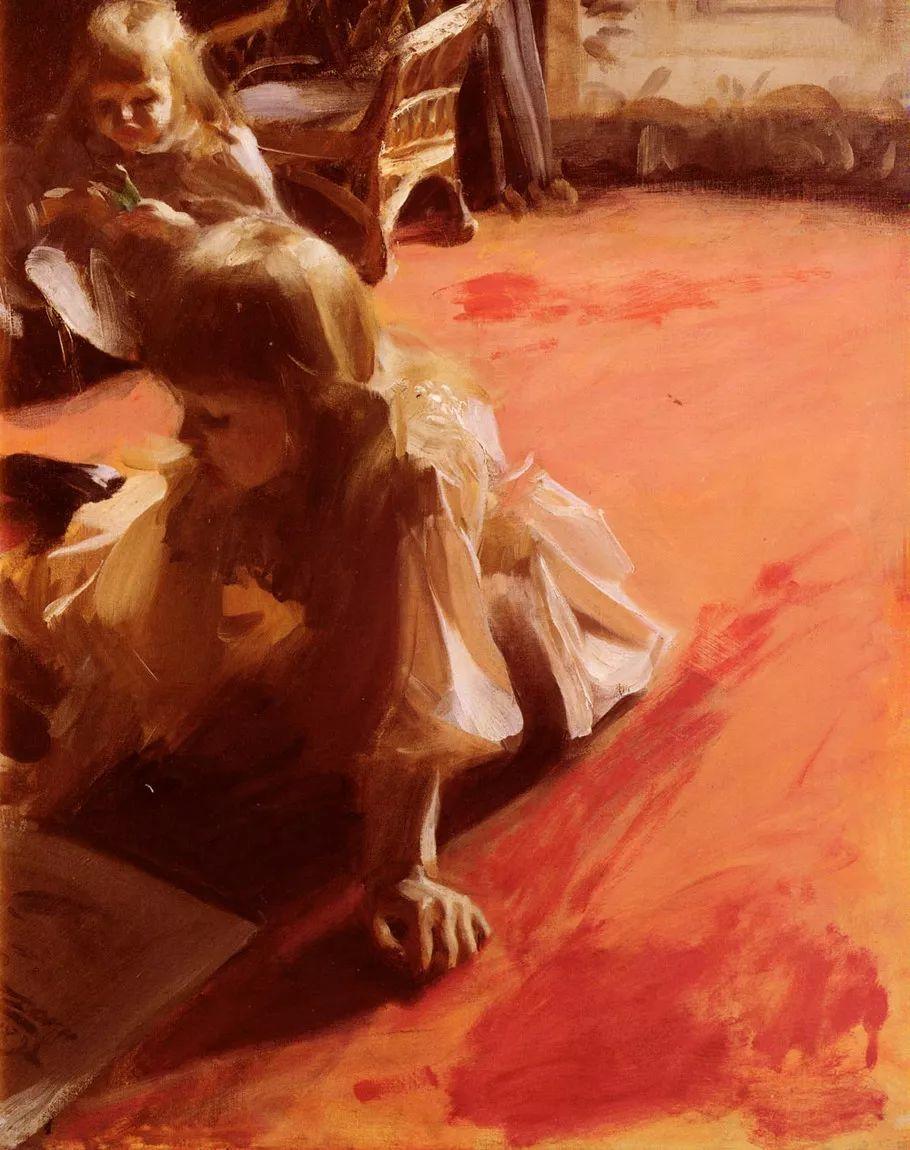 瑞典著名绘画大师Anders Zorn油画作品插图19