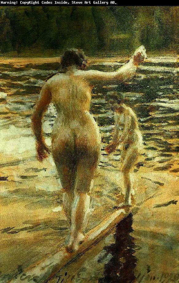 瑞典著名绘画大师Anders Zorn油画作品插图27