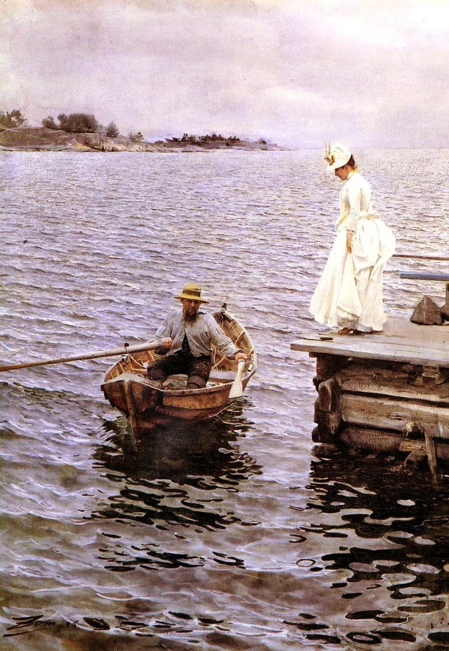 瑞典著名绘画大师Anders Zorn油画作品插图39