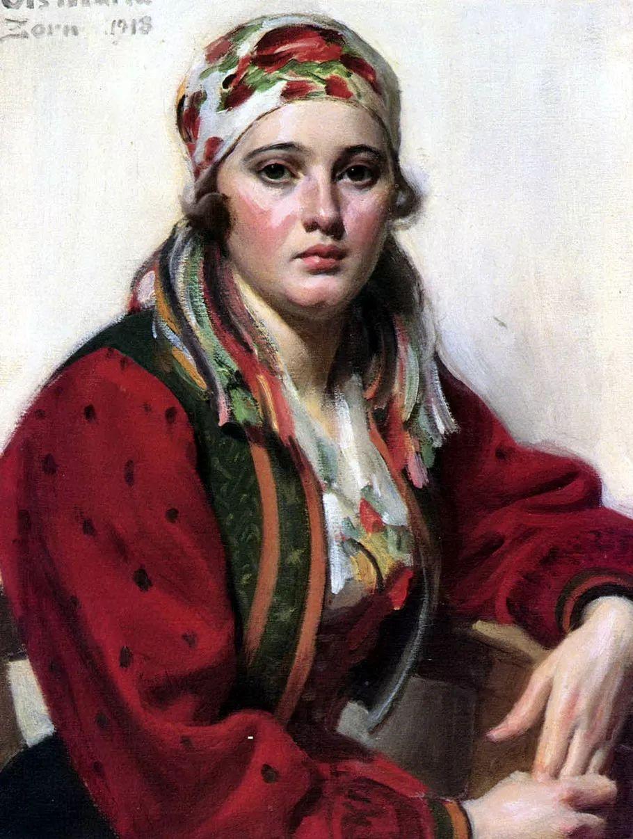 瑞典著名绘画大师Anders Zorn油画作品插图41