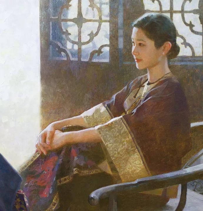 油画人物欣赏  陈衍宁作品插图3