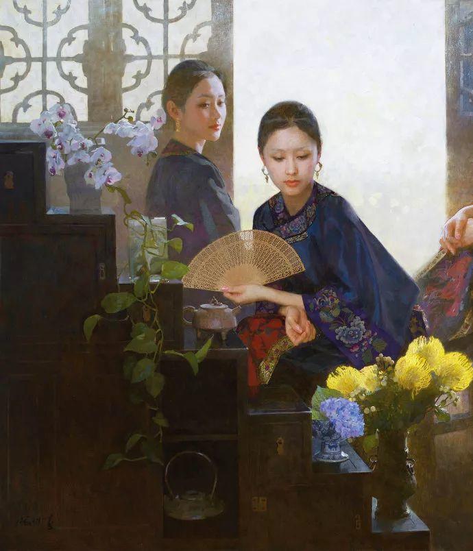 油画人物欣赏  陈衍宁作品插图13