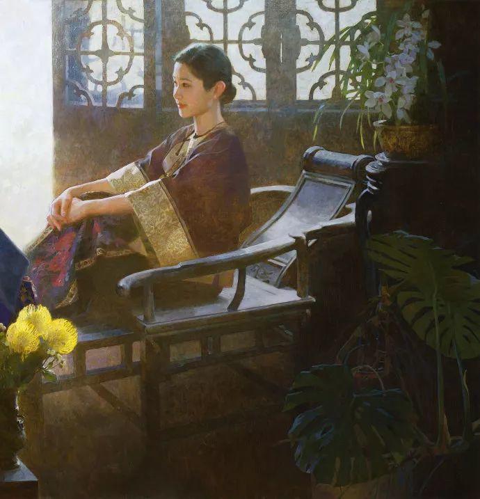 油画人物欣赏  陈衍宁作品插图15