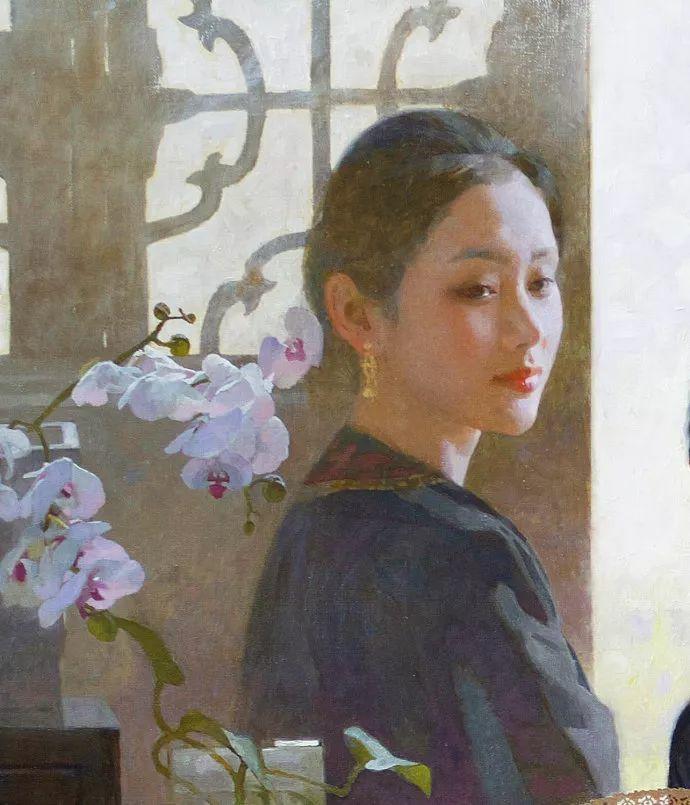 油画人物欣赏  陈衍宁作品插图17