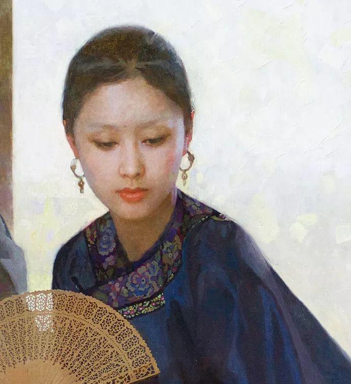 油画人物欣赏  陈衍宁作品插图19