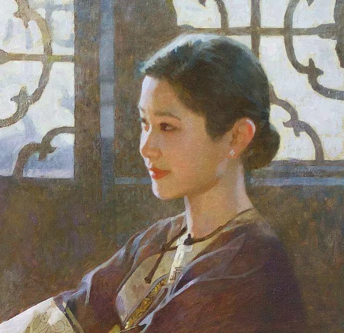 油画人物欣赏  陈衍宁作品插图21