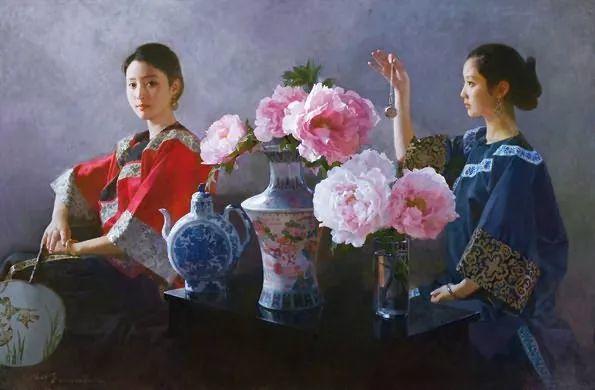 油画人物欣赏  陈衍宁作品插图29