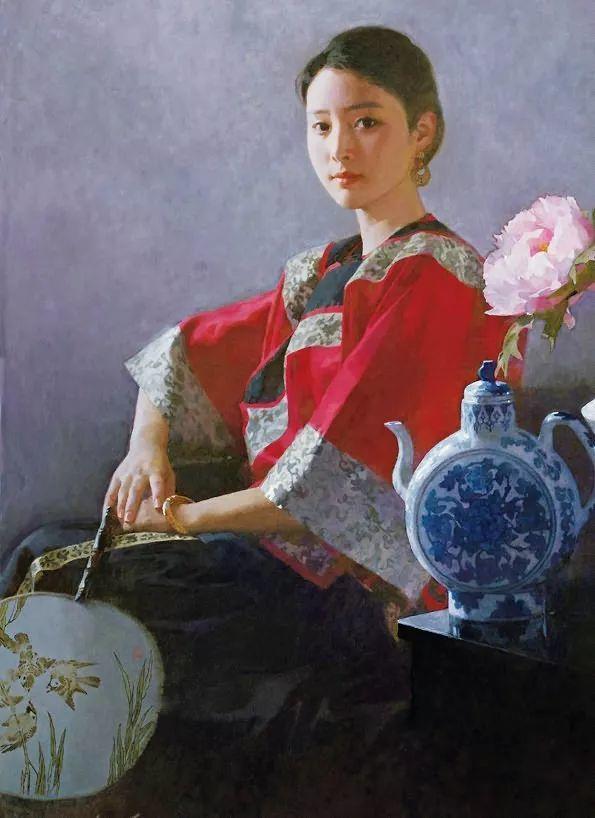 油画人物欣赏  陈衍宁作品插图33