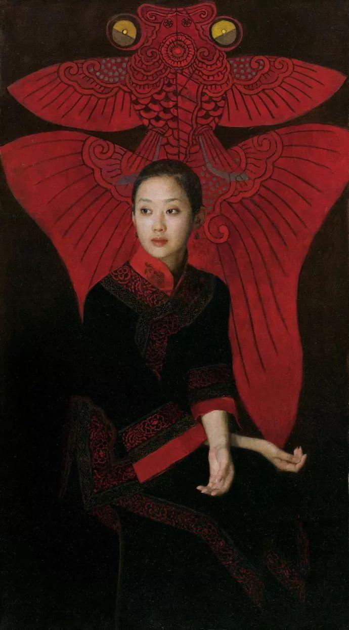 油画人物欣赏  陈衍宁作品插图35