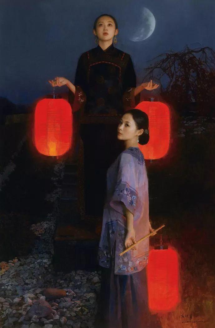 油画人物欣赏  陈衍宁作品插图37