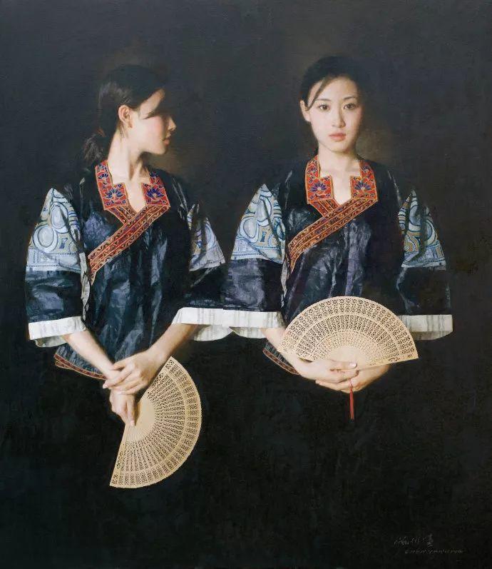 油画人物欣赏  陈衍宁作品插图39