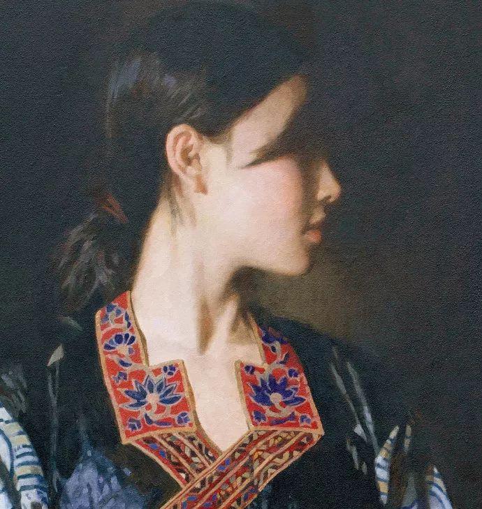 油画人物欣赏  陈衍宁作品插图43