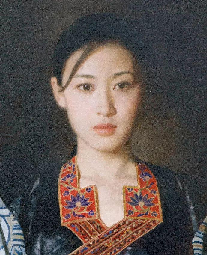 油画人物欣赏  陈衍宁作品插图45