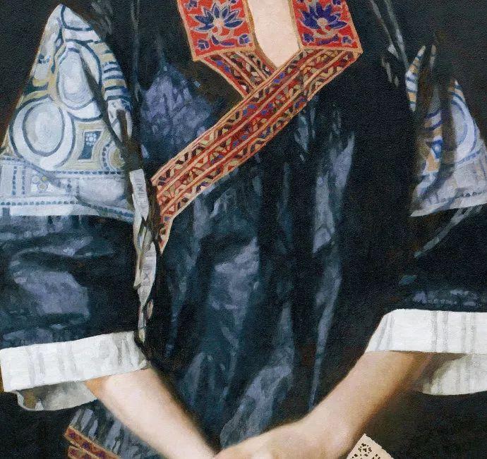 油画人物欣赏  陈衍宁作品插图47