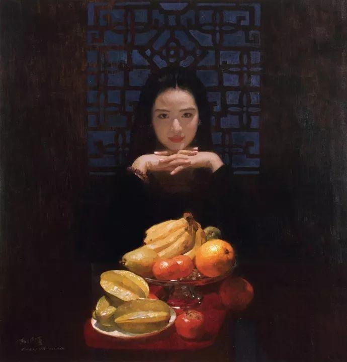 油画人物欣赏  陈衍宁作品插图57