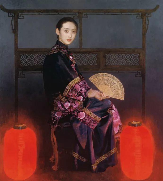 油画人物欣赏  陈衍宁作品插图59