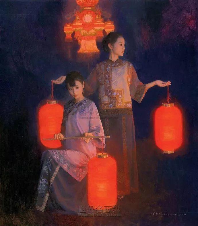 油画人物欣赏  陈衍宁作品插图69