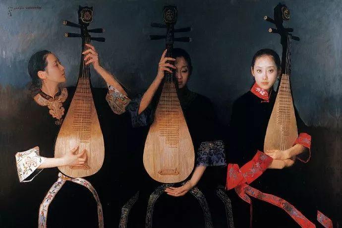 油画人物欣赏  陈衍宁作品插图97