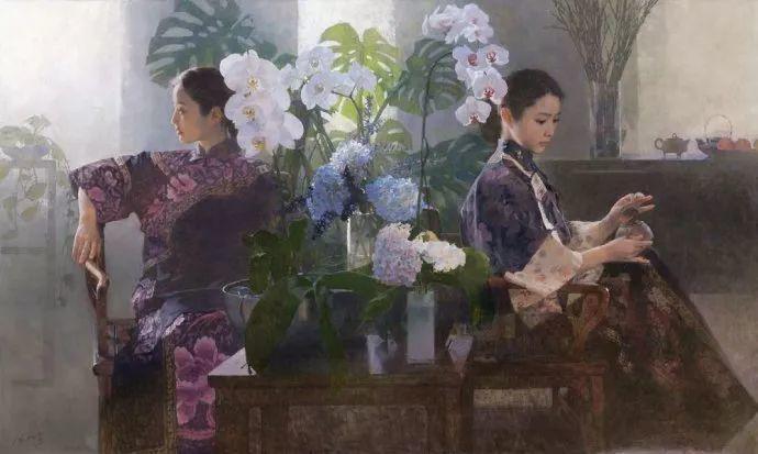 油画人物欣赏  陈衍宁作品插图99
