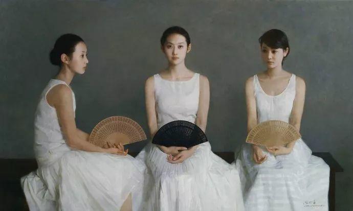 油画人物欣赏  陈衍宁作品插图105