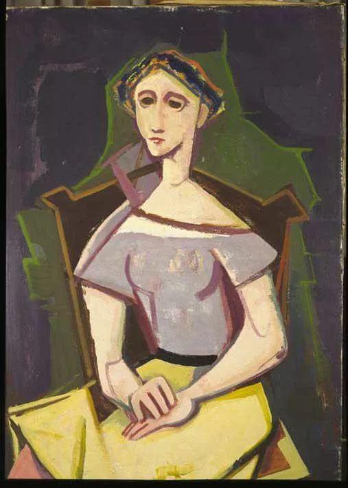 表现主义 德国卡尔·霍费尔(1878-1955)作品二插图5