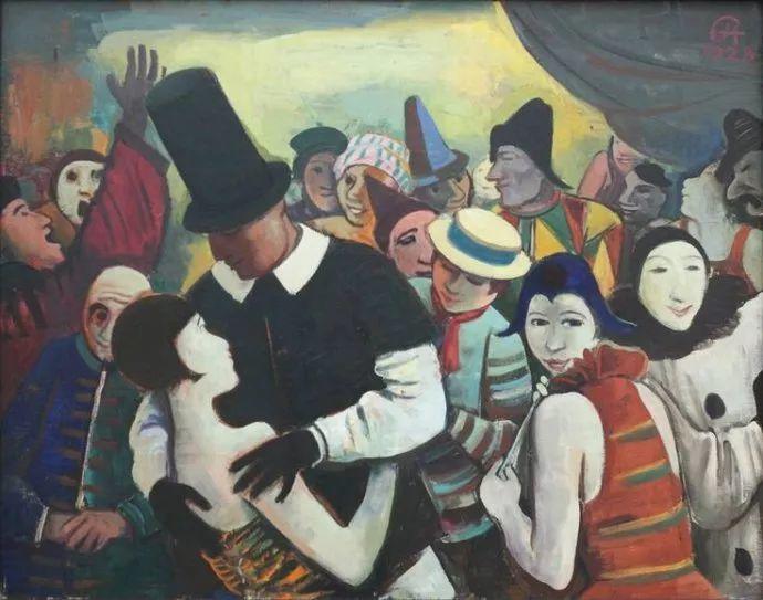 表现主义 德国卡尔·霍费尔(1878-1955)作品二插图7