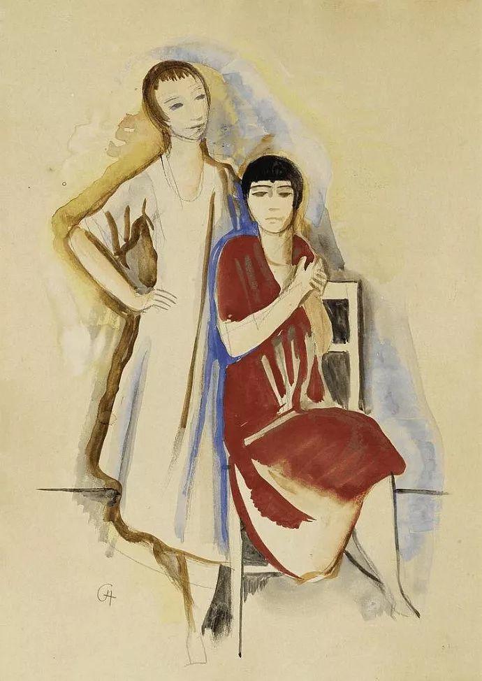 表现主义 德国卡尔·霍费尔(1878-1955)作品二插图11