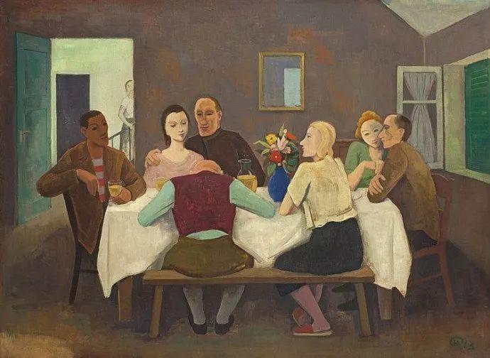 表现主义 德国卡尔·霍费尔(1878-1955)作品二插图13