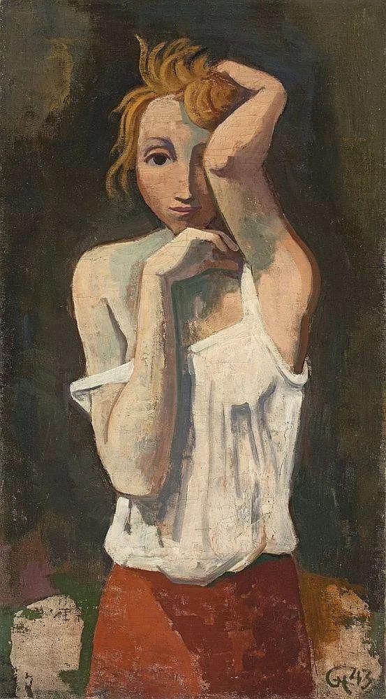 表现主义 德国卡尔·霍费尔(1878-1955)作品二插图15