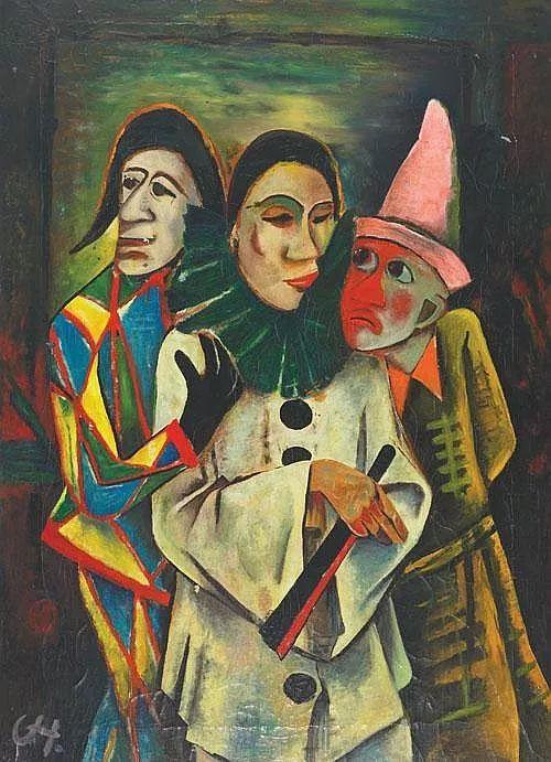表现主义 德国卡尔·霍费尔(1878-1955)作品二插图17
