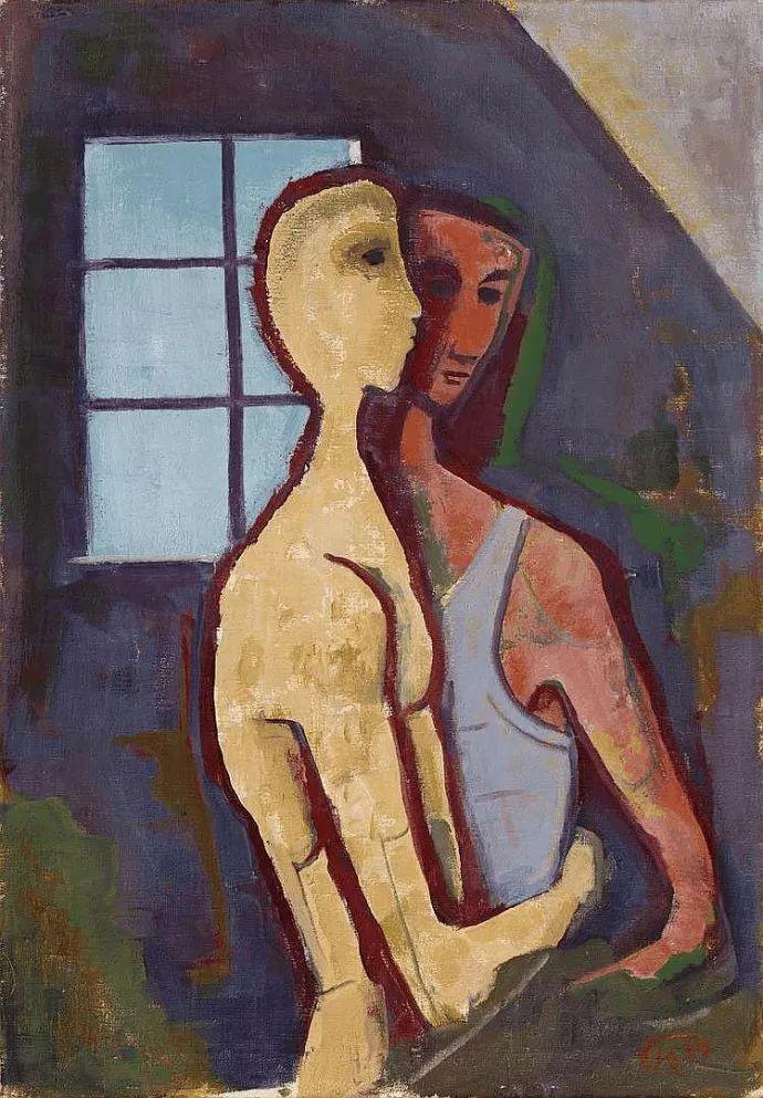 表现主义 德国卡尔·霍费尔(1878-1955)作品二插图21
