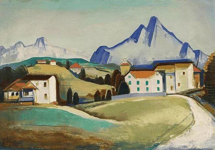 表现主义 德国卡尔·霍费尔(1878-1955)作品二插图23