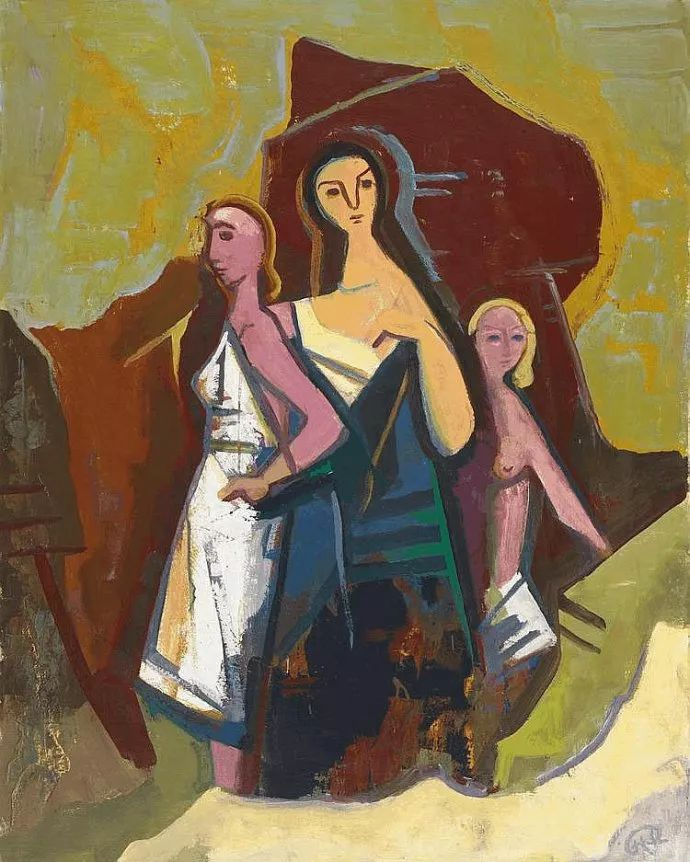 表现主义 德国卡尔·霍费尔(1878-1955)作品二插图27