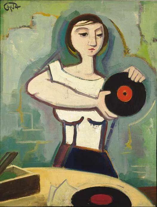 表现主义 德国卡尔·霍费尔(1878-1955)作品二插图31